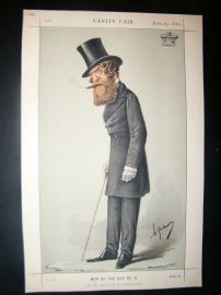 Vanity Fair Print 1870 Viscount Ranelagh